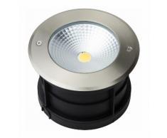 Spot LED Extérieur à Encastrer 18W (éclairage 150W) étanche IP67   Blanc Chaud (3000K)