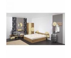 Mobilier chambre matrimoniale pour hôtel SANTORINI - j) Armoire deux portes