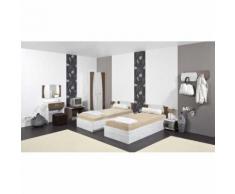MERIDA - Mobilier chambre d'hôtel double - l) Armoire deux portes