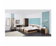 TIROL - Mobilier chambre d'hôtel double - n) Armoire deux portes