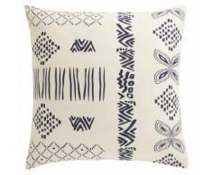 Taie d'oreiller carrée ou rectangulaire coton imprimé Aramis