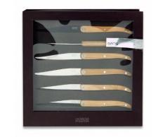6 couteaux Evolution Sens Bois 30050016 - LAGUIOLE