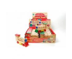 1 jouet - Train éducatif en bois - D66760