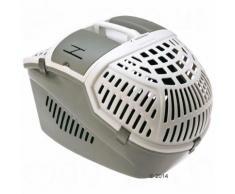 Cage de transport Avior pour chat et petit chien - l 39,5 x P 57,5 x H 40,5 cm