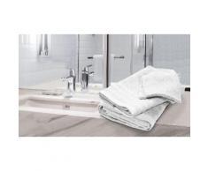 Pack linge de bain : Pack Double / Blanc