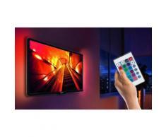 Guirlande LED décoration TV : 1 guirlande / Avec télécommande (77294005)