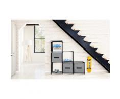 Etagère escalier : Noire