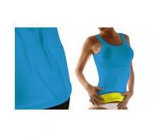 Sauna Top - Bleu - 1 top/Taille S/M