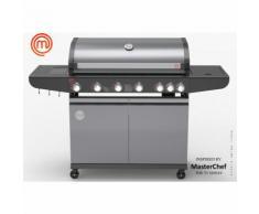 Barbecue à gaz 6 brûleurs