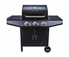 Barbecue à gaz Vaggan 3 brûleurs