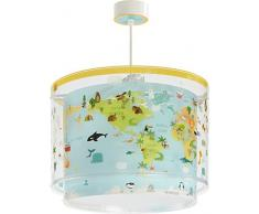 Dalber Baby World Lampe enfant suspension, multicolore
