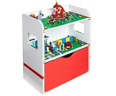 Room 2 Build Étagère de Chevet pour Enfant avec Rangement