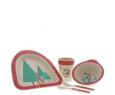 Beatrix Potter A29398 Service de table pour enfant, Multicolore