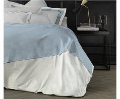 Suite 2603 by Adolfo Carrara Studio Design Drap supérieur, 100% Coton, lit, 39x 26x 4cm 39x26x4 cm Cristal