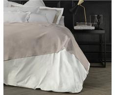 Suite 2603 by Adolfo Carrara Studio Design Drap supérieur, 100% Coton, lit, 39x 26x 4cm 39x26x4 cm Sable