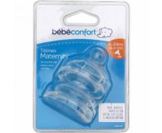 Tétines 6-24m silicone Bébé Confort - les 2 tétines