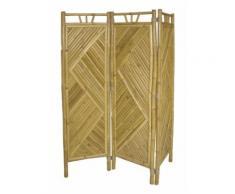 Paravent en bambou de 3 pans