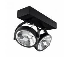 Spot LED Cree en Saillie Orientable AR111 30W Dimmable Noir Blanc Froid 5500K