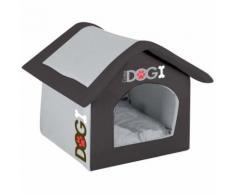 Niche d'intérieur pour chien Dogi - Taille S - Noir