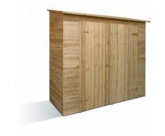 Armoire de jardin avec toit schingel Savona | 200 x 100 x 200 cm