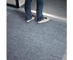 Tapis Moquette imitation gazon Avec Plots Gazon Gris Synthétique pour intérieur ou extérieur | 2x12m