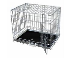 Bc-elec Cage de transport pour chien et autres animaux, taille XXL 107*70*77cm