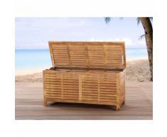 Coffre en bois - coffre à coussins de jardin - Riviera