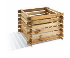 Composteur avec renfort de coins | 100 x 100 cm