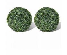 Plante artificielle 2 pcs 27 cm
