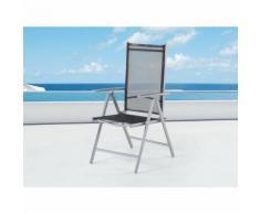 Chaise de jardin en aluminium Catania