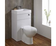 Hudson Reed - Toilette WC avec Lave Main Intégré - Design Moderne Minimaliste