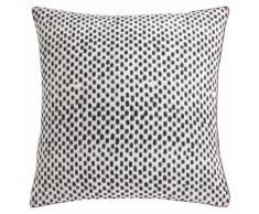 Taie d'oreiller carrée ou rectangulaire coton imprimé Arno