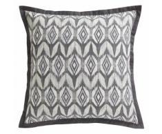 Taie d'oreiller carrée ou rectangulaire coton imprimé Argan