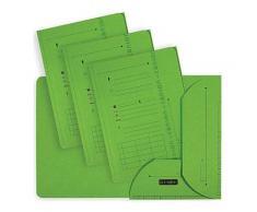 Chemise 2 rabats HV Ultimate pour dossiers suspendus - vert - 23.5 x 31,5 cm - paquet de 25