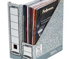 Porte revue Bankers Box System - gris - Lot de 20