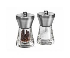 Moulin sel et poivre acrylique gris (Coffret) chester MAINSTRE