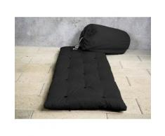 Matelas futon d'appoint 1 personne 70x190 BED IN BAG 90 X 190 cm anthracite