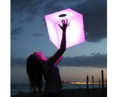 Cube lumineux LED Bluetooth multicolore sans fil 45cm CUBY