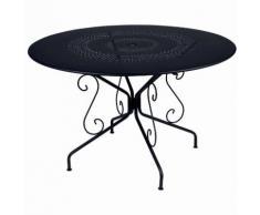 Table de jardin ronde FERMOB acier D.117cm MONTMARTRE