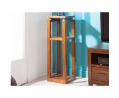Sellette carrée en bois de mindi H90cm FREESIA