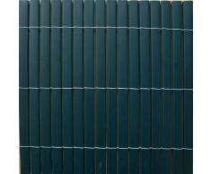 Canisse en PVC occultant 95% 1.2m gris