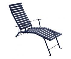 Bistro métal Chaise longue pliante FERMOB,