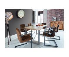 JUSTyou Loft III Table de salle a manger Acacia 85x160