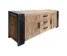 JUSTyou Rico Commode Teck Noir