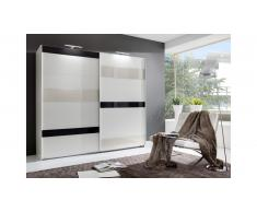 JUSTyou Clamer Armoire a portes coulissantes Beige