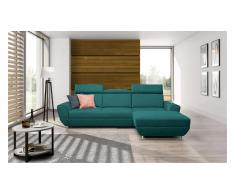 JUSTyou BUENO COMFORT Canapé d'angle Turquoise