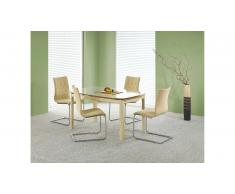 JUSTyou Kayden Table salle a manger 140÷200x90x76