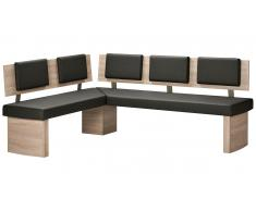 JUSTyou Dawn I Banc salle a manger 155x195 Anthracite