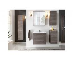 JUSTyou Manosque Ensemble de salle de bain Marron
