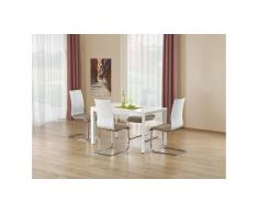 JUSTyou Stanford Table salle a manger 130÷250x80x75